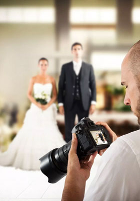 Shooting pour mariage